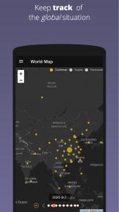 Covid-19 Global iTracker PWA | Screenshot | InnoLab Global Portfolio