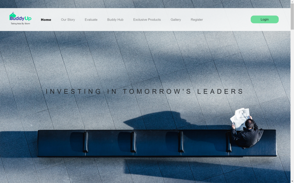 Buddy Up Website   Home Page   InnoLab Global Portfolio